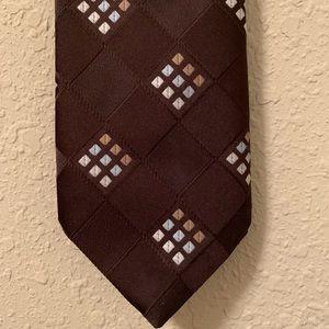 Dark Brown Christian Dior Tie